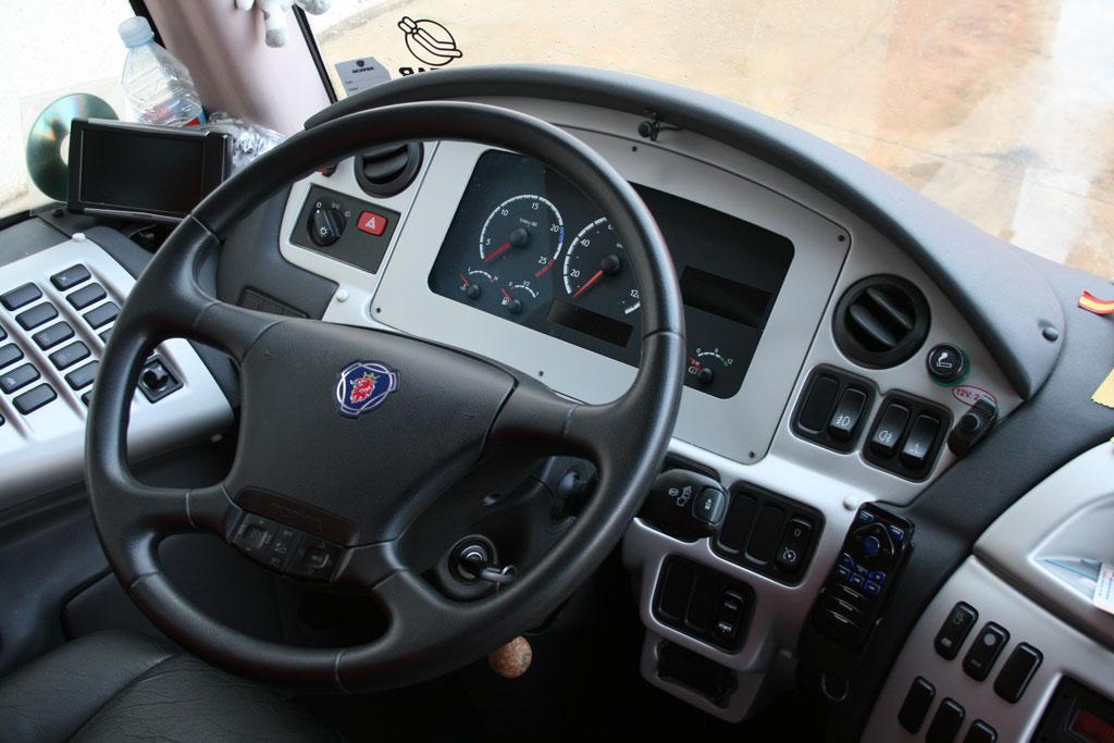 Panel de mandos (autobús 55 plazas)
