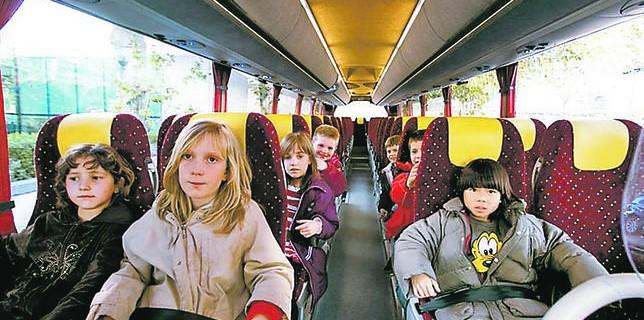 Autobuses con cinturón de seguridad