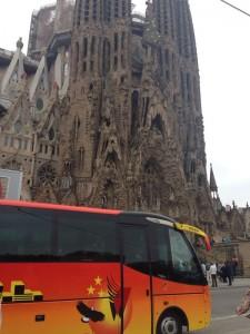 Autocares Watsa en Barcelona