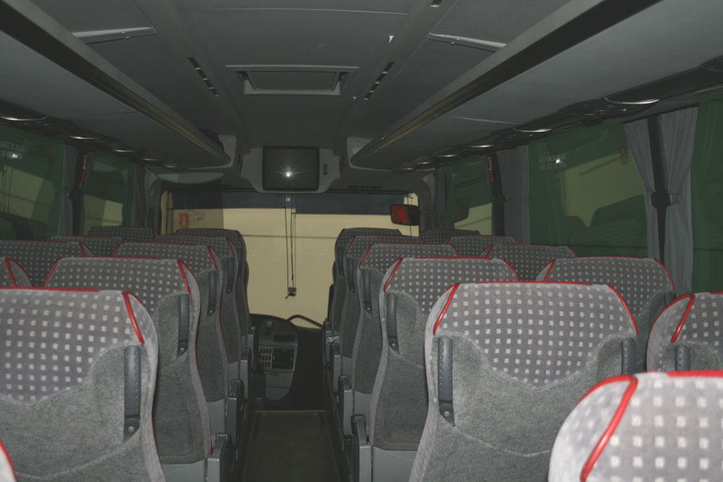 Asientos autobús de 39 plazas