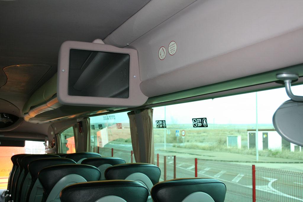 Tv interior (autobús 55 plazas)